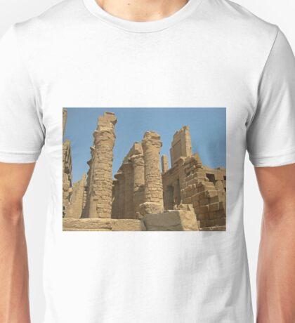 Egyptian Columns Unisex T-Shirt