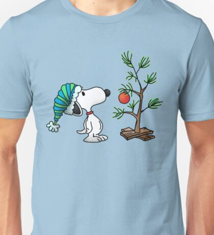 Christmas snoopy Unisex T-Shirt