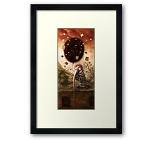 I`ve got black hole Framed Print