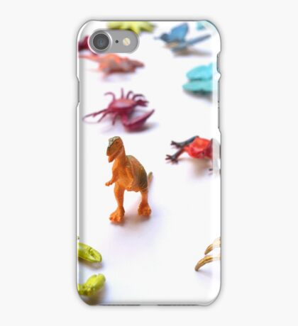 Toy T-Rex Army iPhone Case/Skin