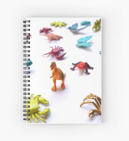 Toy T-Rex Army Spiral Notebook