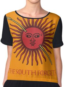The South Forgets Martell Game of Thrones Chiffon Top