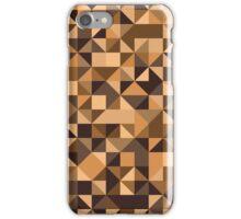 Background a triangle iPhone Case/Skin