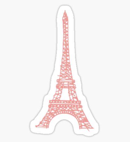 Pastel Eiffel Tower Sticker