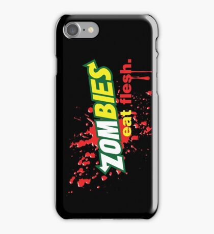 Zombies Eat Flesh Variant iPhone Case/Skin