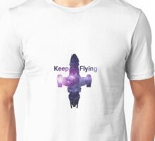 Serenity Keeps Flying Unisex T-Shirt