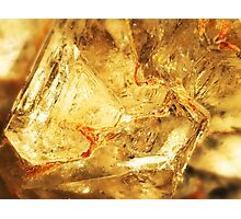 Triangulate (Apophyllite) Photographic Print