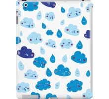 Rain, with a chance of... iPad Case/Skin