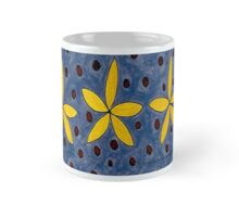 Yellow Tiny Flower Painting Mug