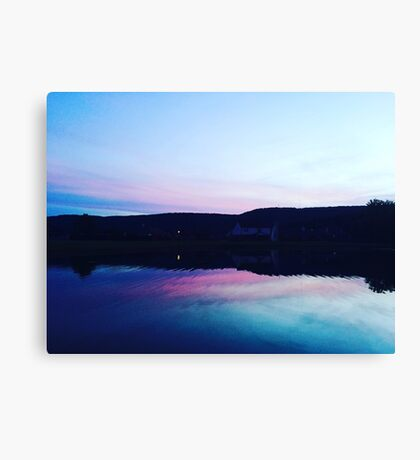 Color water Canvas Print