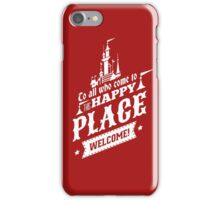 Magic Kingdom - Walt's Happy Place iPhone Case/Skin