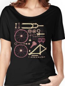 Bicycle Parts Women's Relaxed Fit T-Shirt