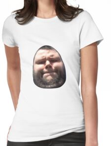 Hairy Egg of Doubt Womens Fitted T-Shirt