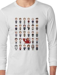 A Field Guide to the Common Cumberbatch (shirt) Long Sleeve T-Shirt