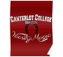 Canterlot College - Varsity Magic Poster