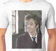 10th Doctor fanart Unisex T-Shirt