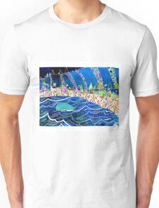 A Splendid Day in a Fishing Village Unisex T-Shirt
