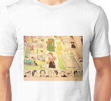 1930's Sunday Funnies paper doll etc Unisex T-Shirt
