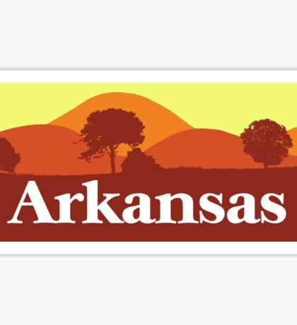 Scenic Arkansas Sticker