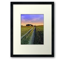 Picturesque indian summer scenery | landscape photography Framed Print