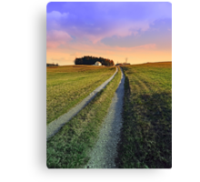 Picturesque indian summer scenery | landscape photography Canvas Print