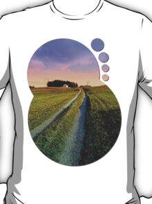 Picturesque indian summer scenery   landscape photography T-Shirt