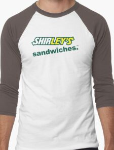Shirley's Sandwiches Men's Baseball ¾ T-Shirt