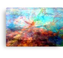 Beautiful Inspiring Underwater Scene Art Canvas Print