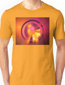 Magenta Planets Unisex T-Shirt