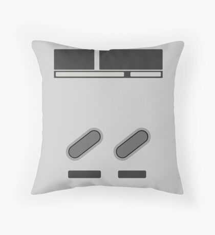 SNES Select/Start Throw Pillow