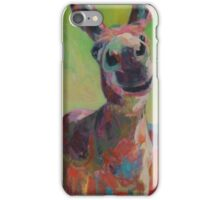 Hee Haw in the Red Field iPhone Case/Skin