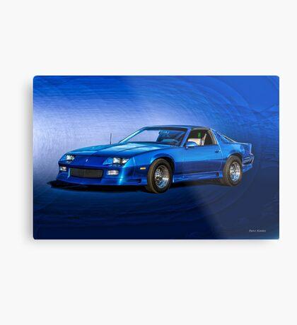 1992 Chevrolet Camaro Z28 Metal Print