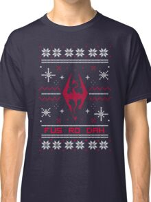 Ugly Sweater Skyrim Classic T-Shirt