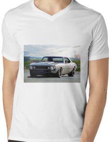1967 Chevrolet Camaro 350 Mens V-Neck T-Shirt