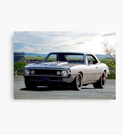 1967 Chevrolet Camaro 350 Canvas Print