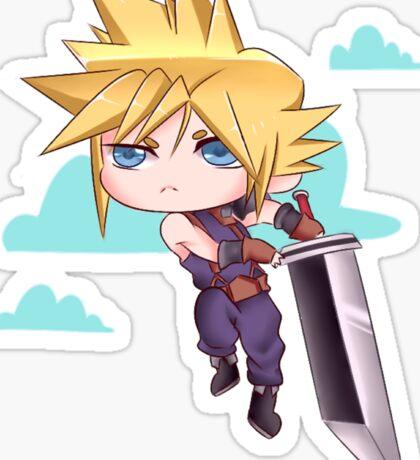Cloud Strife Chibi Sticker