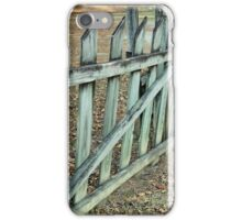 The Old Fence Row iPhone Case/Skin