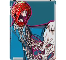 this strawberry man just can't take it anymore! iPad Case/Skin