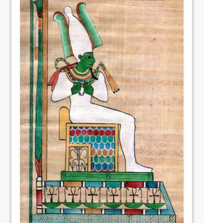 Divine principles: Osiris Sticker