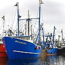 New Bedford fishing boats (series) by Poete100