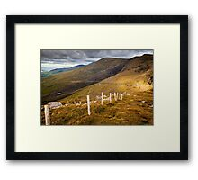 Conor Pass Framed Print