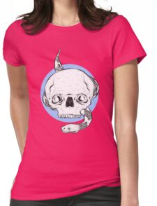 Spooky Python Womens Fitted T-Shirt