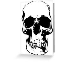 221b Skull Greeting Card