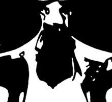 221b Skull Sticker