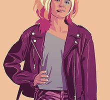 GAME OF THRONES 80/90s ERA CHARACTERS - Cersei by GOT80-90