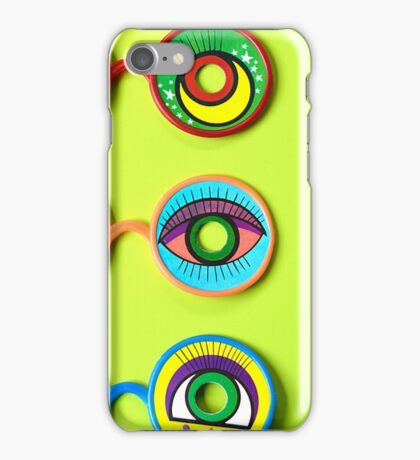 Retro Psychedelic Toy Glasses iPhone Case/Skin