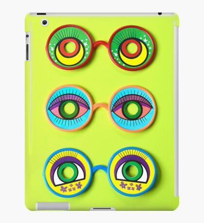 Retro Psychedelic Toy Glasses iPad Case/Skin