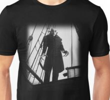 Nosferatu Symphony of Horror Vampire Graphic Design Unisex T-Shirt
