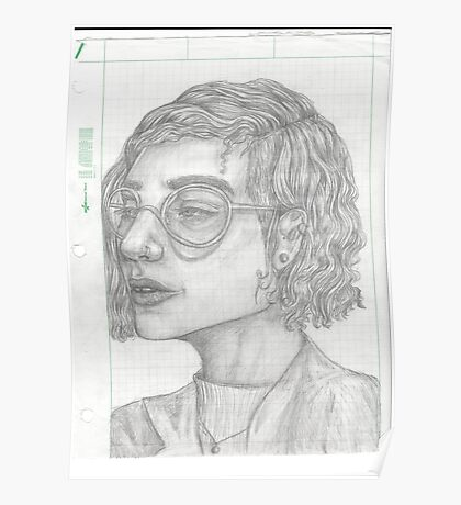 in class sketch Poster
