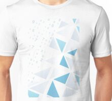 Background a triangle Unisex T-Shirt